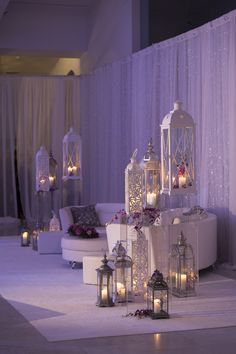 An Enchanting, Ultra-Sparkly Wedding at Milwaukee Art Museum in Milwaukee, Wisconsin Quinceanera Decorations, Ramadan Decorations, Quinceanera Party, Wedding Decorations, Wedding Themes, Wedding Lounge, Wedding Stage, Wedding Reception, Lounge Decor
