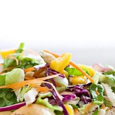 Vietnamese Mango & Chicken Salad 30% RDA of Na, can reduce to 17% of RDA by cutting fish sauce in half.