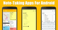 Are you looking for the best Android note taking apps? Here we have shared 10 best Android note taking apps of 2019 Android Notes, Android Web, Best Android, Best Daily Planner App, Latest Mobile Phones, The Face, Note Taking, Latest Gadgets, Good Notes