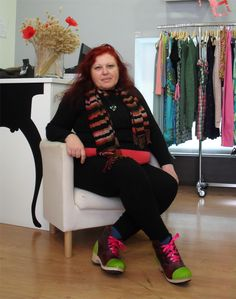 Jovita Rapaza Ela Diz, clogs by Elena Ferro