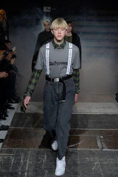 Male Fashion Trends: Gosha Rubchinskiy Fall/Winter 2016/17 - Paris Fashion Week