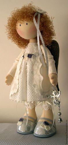 Коллекционные куклы ручной работы. Ярмарка Мастеров - ручная работа Кукла текстильная Жу Жу ПРОДАНА. Handmade. Raggy Dolls, Sewing Dolls, Waldorf Dolls, Soft Dolls, Diy Doll, Cute Dolls, Fabric Dolls, Handmade Toys, Handmade Jewelry
