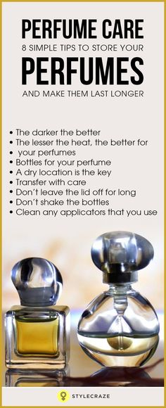 You've just bought a bottle of your favourite perfume, and you want it to last as long as possible (let's face it; perfumes don't come cheap, do they?). Whether it's a bottle of a hard to find vintage perfume or this season's new arrival, perfumes need to be stored and handled with care so that they don't lose their original scent soon. The oils and alcohols in perfumes break down in the presence of their mortal enemies – humidity, heat, and light. Here are some perfume tips and tricks to…