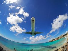 Extreme Plane Spotting at Maho Beach, Saint Martin - Gus NYC