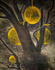 Francisco Clemente - Son, 1984 at Albright-Knox Art Gallery Buffalo NY