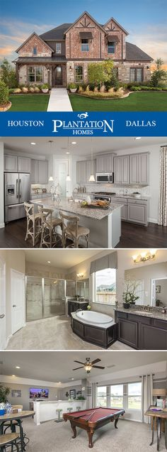 Gorgeous new homes designed how you want.  Plantation Homes