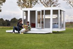 Architectural playhouses for kids