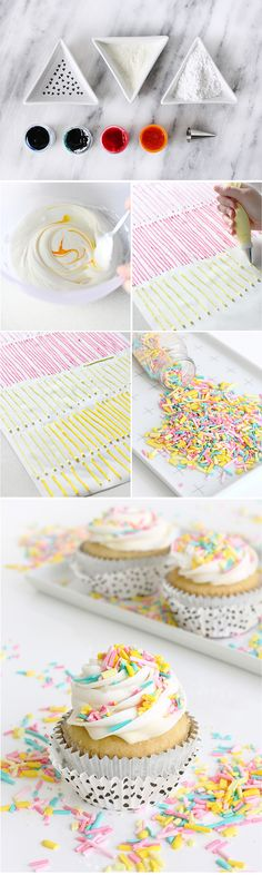DIY homemade sprinkl