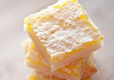 Lemon Snow Bars Recipe by Gourmet.station | iFood.tv