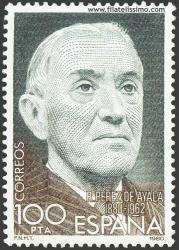 Centenario del nacimiento de Ramón Pérez de Ayala 1980