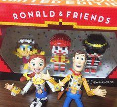皆さんのインスタを見て買っちゃった♡ カワイイ♡ #マクドナルド#Macdonald's#ナノブロック#nanoblock#トイストーリー#ウッディ#ジェシー#リボルテック#ピクサー#ディズニー#toy#toystory#woody#jessie#pixar#Disney