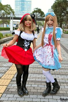 2013 Tokyo VAMPS Halloween Party - Japanese rock bands L'Arc-en-Ciel & VAMPS have been hosting this party since 2008. | 26 October 2013 | #Fashion #Harajuku (原宿) #Shibuya (渋谷) #Tokyo (東京) #Japan (日本)