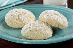 If you prefer a cookie that& not too sweet and has a soft, pillowy texture to it, then these Cottage Cheese Cookies are just for you. Our Cottage Cheese Cookies are simply delicious! Cottage Cheese Cookie Recipe, Cottage Cheese Desserts, Cheese Cookies, My Recipes, Sweet Recipes, Baking Recipes, Cookie Recipes, Dessert Recipes, Protein Recipes