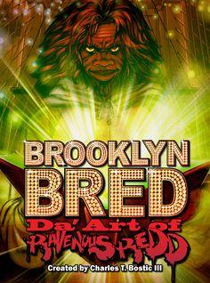 Cover to Brooklyn Bred Da' Art of Ravenous Redd by Charles T. Bostic III