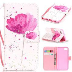 iPhone 7 4.7 Flip Case,XYX [One safflower] - [Kickstand][Wallet][Card Slot][Flip][Slim Fit][Hand Strap] Premium Protective Case for iPhone 7 (4.7 inch)