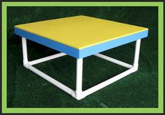 Pause Table Contact Obstacle made of wood, portable, competition quality