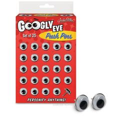 Googly Eye Push Pins $5