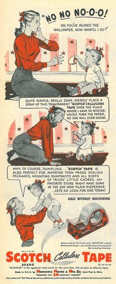 Scotch. 1946. Funny because it is so ridiculous. Beyond ridiculous