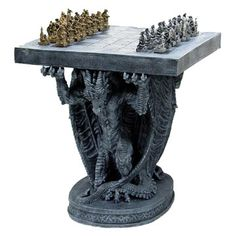 Dragon pedestal