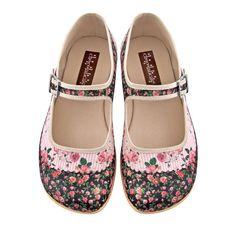 cd6938e2e700 Chocolaticas® Pandora Women s Mary Jane Flat. Designer ShoesWomen s ...