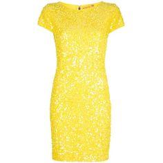 ALICE+OLIVIA Taryn dress ($705) found on Polyvore