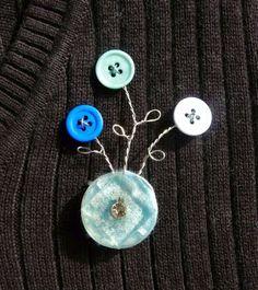 Bonkers Acerca Botones: Tutorial Martes - Hacer un botón y broche del alambre