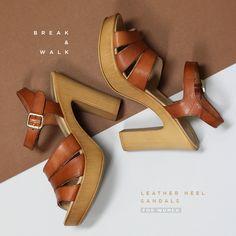 Zapatos de Tacón para Mujer. Colección Primavera Verano en la Tienda Online de Break&Walk