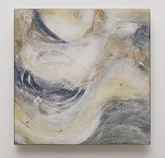 "Catherine Newell ""Oyster I"" kilnformed glass, enamel, powder. morganglassgallery.com"
