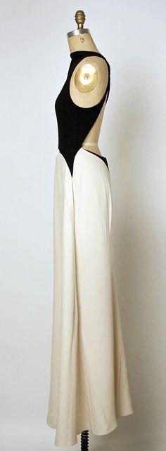 Dress; Geoffrey Beene (1927–2004) Date: spring/summer 1992 Medium: silk, wool: