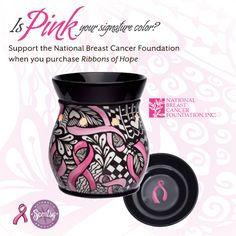 Proceeds from Ribbons of Hope support the National Breast Cancer Foundation (NBCF). ONLY $35.00 with $7.00 from each warmer going to NBCF!