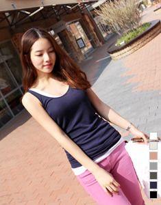 Today's Hot Pick :全7色 テンセルUネックタンクトップ【BAGAZIMURI】 http://fashionstylep.com/SFSELFAA0021339/bagazimurijp/out ベーシックなリブタンクトップをご紹介します^^ やわらかく伸縮性のあるリブ素材を使用。 ナチュラルな着心地でデイリーアイテムにおすすめです◎ お尻が隠れる若干長めの丈感ミニワンピのインナーにもOK カラバリ豊富に7色展開ています。 明るいカラーは若干透け感がありますのでご参考ください。