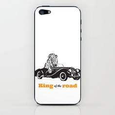 KING OF THE ROAD iPhone & iPod Skin by VINSPIRO - $15.00