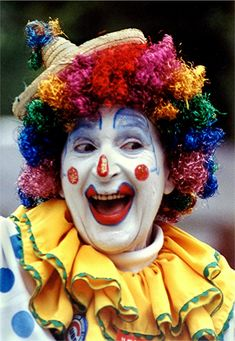 clowns | ... we might possibly be scared of clowns (or anyone for that matter