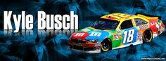 Kyle Busch Facebook Cover