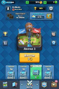 My Profile Clash Royale Arena