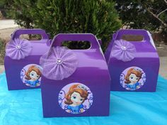 Sofia the First Candy Box - 12 Favor Box