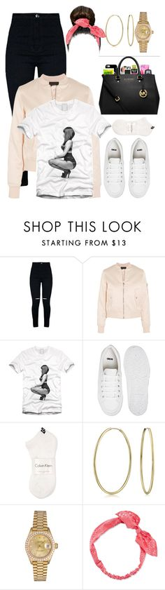 """""""Untitled #419"""" by eduardafrancisca69 ❤ liked on Polyvore featuring Maje, Nicki Minaj, ASOS, Calvin Klein, Bling Jewelry, Rolex and Carole"""