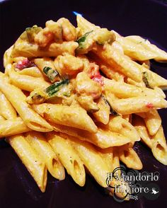 penne gamberi e curry