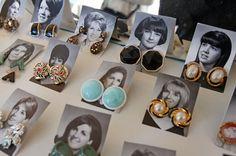earring display!