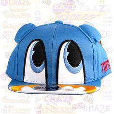 TopCul K-Pop Hip Hop Streetwear Hat Character Dog Blue Snapback Baseball Cap  – MyCraze 50784a1b32b9