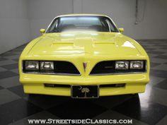 """1978 Firebird Formula in """"sundance yellow"""""""