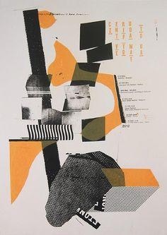 Damien Tran | Czentrifuga - Vetomat - Tour poster, 2011 | http://www.damientran.com/