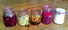 fermentieren im geschlossenen Bügelglas
