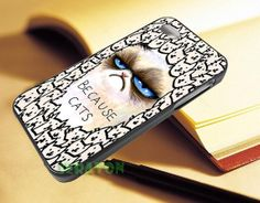 Because Cat Grumpy  For iPhone 4/4s55s5c and Samsung by JERATON, $14.50