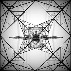 High Voltage Tower by Mohammed Al-Furaih