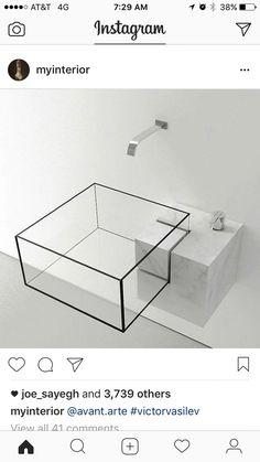 Waschtischkonsole Cm In Eiche Holzdekor Nach Maß A Werkstatt - Almost invisible minimalist kub bathroom sink by victor vasilev
