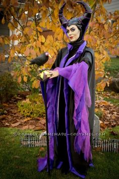 Cool Homemade Maleficent Costume...
