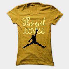 This girl loves Basketball