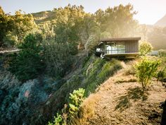architecture project fall house Exquisitely Shaped by a Dramatic Landscape: Fall House in Big Sur, California