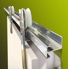 Sliding Barn Door Hardware, Sliding Glass Door, Sliding Doors, Small Bathroom Plans, Window Glass Design, Steel Doors And Windows, Cozy Home Office, Grill Door Design, Door Fittings